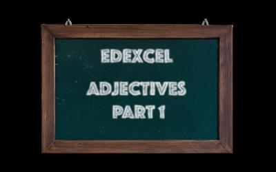 Edexcel GCSE French vocabulary – Adjectives – Part 1